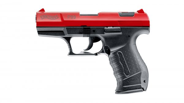 Walther - Mod. P99 - Hochglanz Rot - 9mm P.A.K.