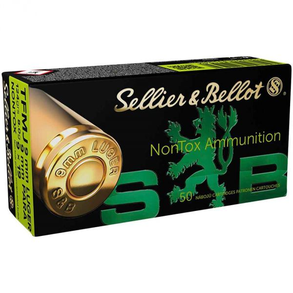 Sellier & Bellot - 9mmx19 TFMJ NonTox