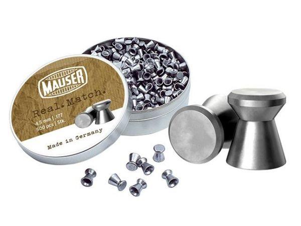 Mauser - Real Match Diabolos glatt - 4,5mm