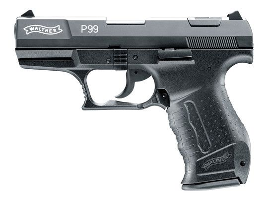 Walther - Mod. P99 - black, 9mm P.A.K.