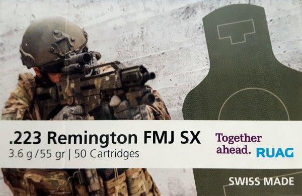 RUAG - .223 Rem. FMJ SX