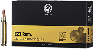 RWS - Target Elite Plus - .223 Rem. - 52 grain
