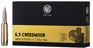RWS - Target Elite Plus - 6,5 Creedmoor - 130 grain