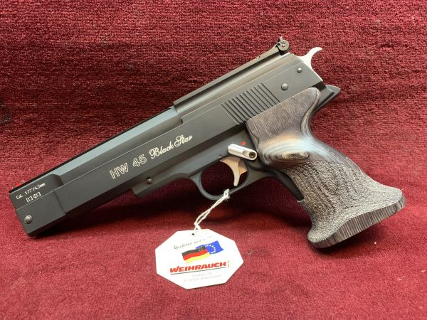 Weihrauch - Mod. HW 45 Black Star - 4,5mm