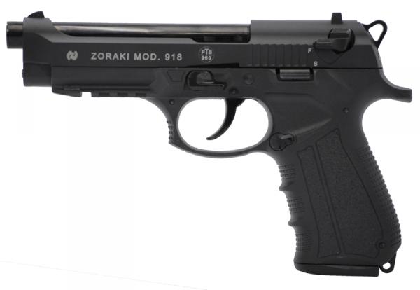Zoraki - Mod. 918, Black - 9mm P.A.K.