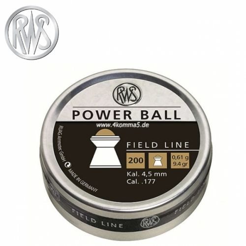 RWS - Power Ball - 4,50mm - 0,61gr.