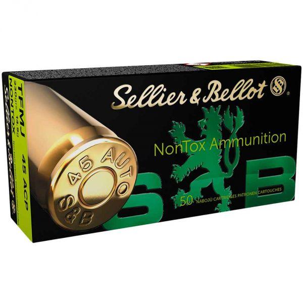 Sellier & Bellot - .45Auto TFMJ NonTox