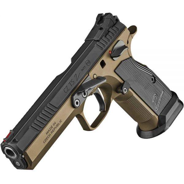 CZ - Mod. TS 2 Deep Bronze - 9mm Luger