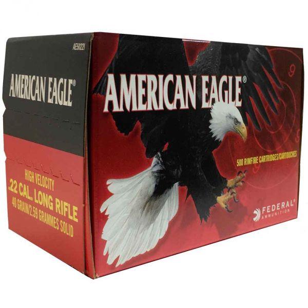 Federal - American Eagle - .22lr. HV (500er)