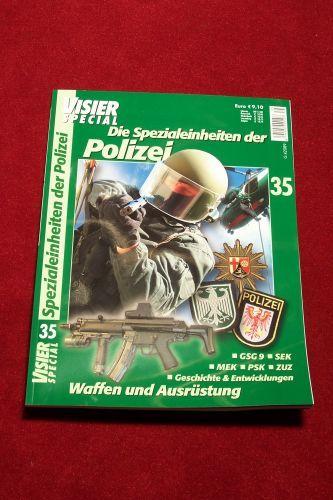 Visier Special Nr. 35 - Die Spezialeinheiten der Polizei