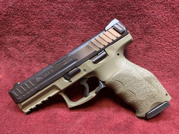 Heckler & Koch - Mod. SFP9-Special Edition Natogrün - 9mmLuger