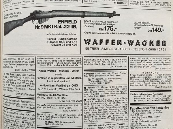Enfield - .22 Wagner Enfield - No.9 MK I - Kal. .22 lr.