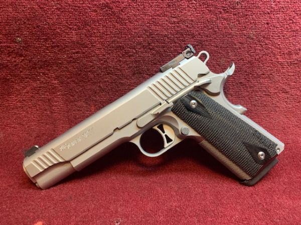 Sig Sauer - Mod. 1911 Target Stainless - 9mm Luger