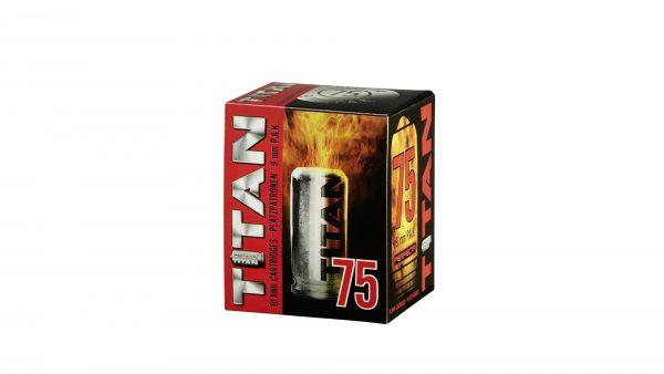 TITAN - Knallpatronen, cal. 9 mm P.A.K. - 75 Schuß