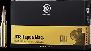RWS - Target Elite Plus - .338 Lapua.Mag. - 300 grain