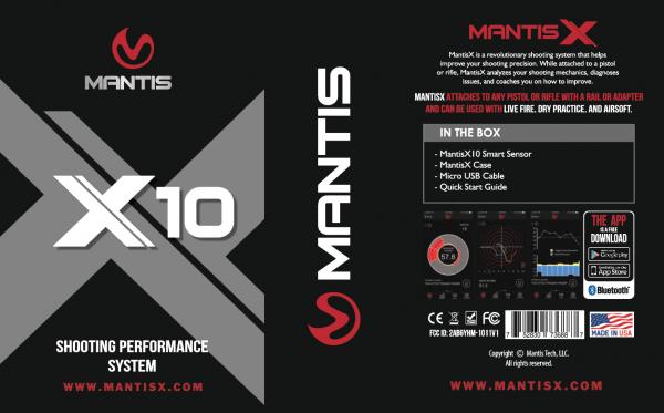 Mantis - X10 ELITE – Shooting Performance System