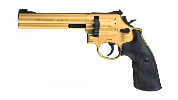 "Smith & Wesson - Mod. 686 - 6"" Gold - Co2 - 4,5mm"