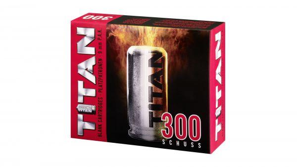 TITAN - Knallpatronen, cal. 9 mm P.A.K. - 300 Schuß