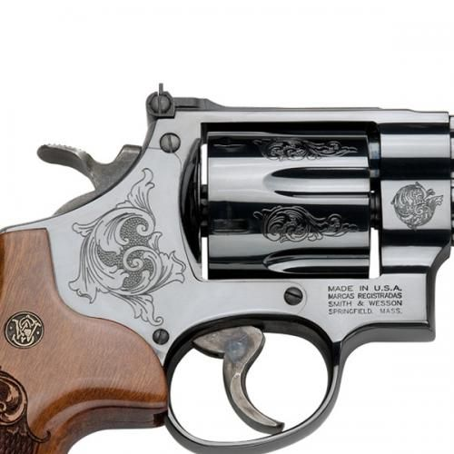 Smith & Wesson - Mod. 29-10 - .44 Mag. (graviert)