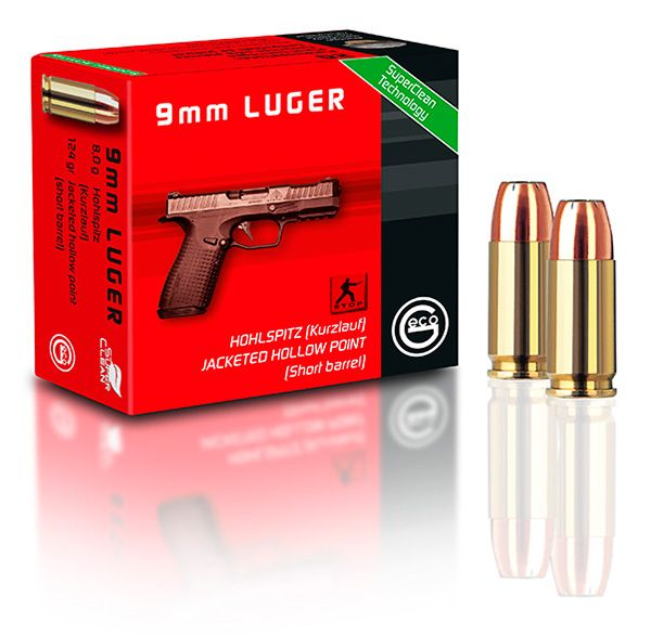 GECO - 9mm Luger HP - Short Barrel
