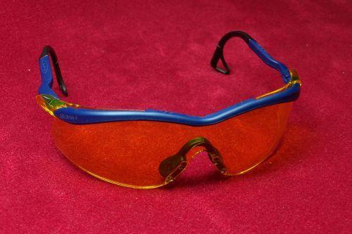 Schutzbrille - gelb