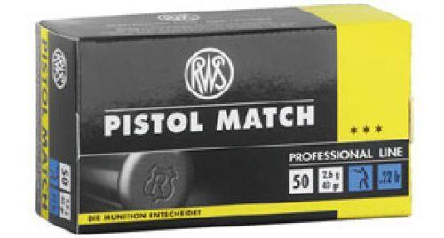 RWS - .22lfb. Pistol Match