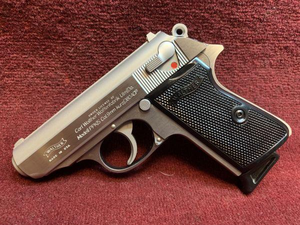 Walther / Interarms - Mod. PPK / S - 9mm kurz