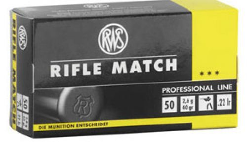 RWS - .22lfb. Rifle Match