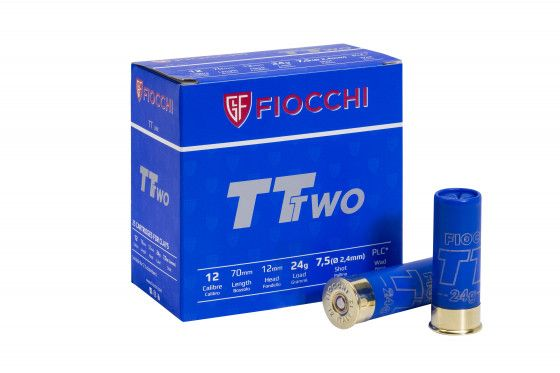 Fiocchi - TT Two 24gr. 2,4mm - Kal. 12 - 250 Schuß