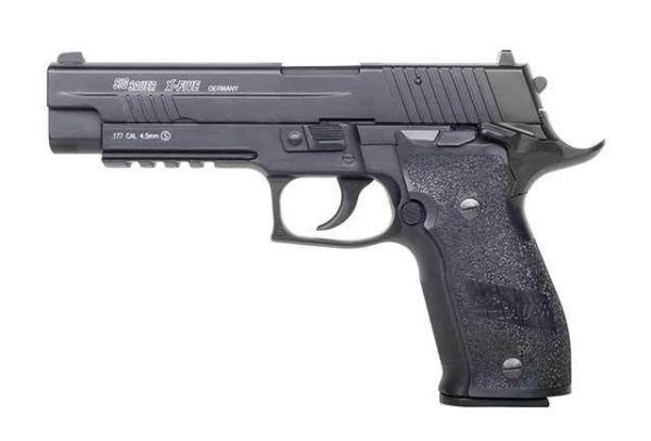 Sig Sauer - X-Five Blow Back - 4,5mm Diabolo - schwarz